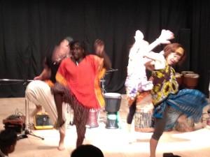 アフリカンダンス教室