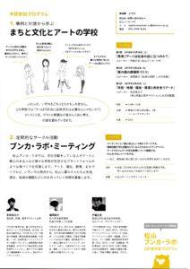 1/26 松山ブンカ・ラボ「まちと文化とアートの学校」